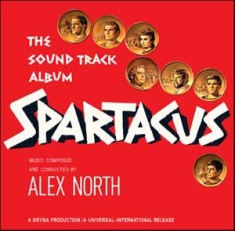 Soundtrack - Spartacus - alex north