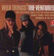 Ventures - Wild Things! (Limited Edition) Colo i gruppen VINYL / Rock hos Bengans Skivbutik AB (483219)