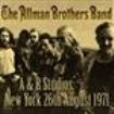 Allman Brothers Band - A And R Studios - New York 26Th Aug
