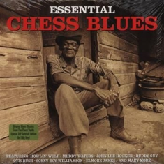 Blandade Artister - Essential Chess Blues (180 G)