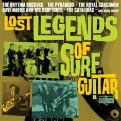 Blandade Artister - Lost Legends Of Surf Guitar