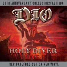 Dio - Holy Diver - Live (Red Vinyl)