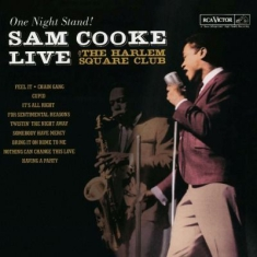 Cooke Sam - Live At The Harlem Square Club