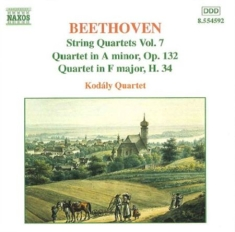 Beethoven, Ludwig Van - String Quartets Vol 7