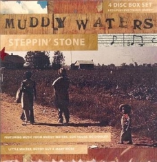 Waters Muddy - Steppin' Stone (3Cd+Dvd)