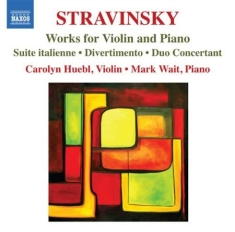 Stravinsky - Works For Violin And Piano