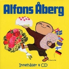 Barn - Alfons Åberg - Jubileumsbox 4Cd