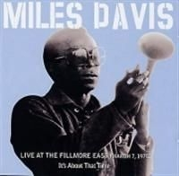DAVIS MILES - Live At Fillmore East