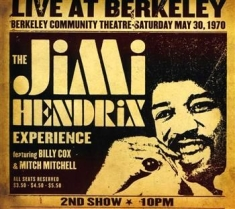 Hendrix Jimi - Live At Berkeley -Digi-