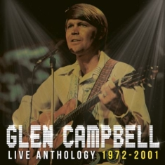 Glen Campbell - Live Anthology 1972-2001 Cd+Dvd