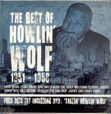 Howlin' Wolf - Best Of 1951-58 (3Cd+Dvd)