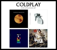 Coldplay - 4 Cd Catalogue Set