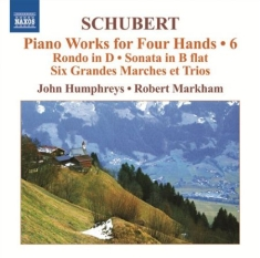 Schubert - Piano Works For Four Hands Vol 6