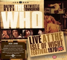 Who - Live At Isle Of Wight 1970 (2Cd+Dvd