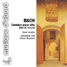 Bach, Johann Sebastian - Cantatas For Alto (Cd-Cat)