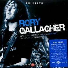Gallagher Rory - Live At Montreux (Cd+2Dvd)