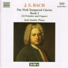 Bach, Johann Sebastian - Well Tempered Clavier Book 1