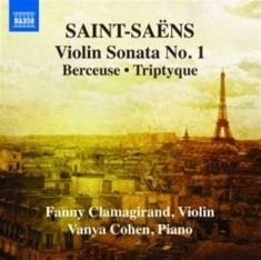 Saint-saens - Works For Violin And Piano Vol 1
