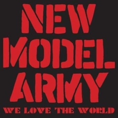 New Model Army - We Love The World (Cd & Dvd)