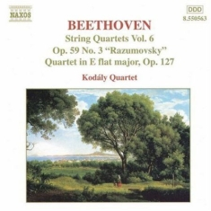 Beethoven, Ludwig Van - String Quartets Vol 6