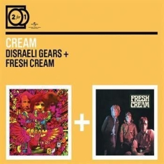 Cream - 2For1 Disraeli Gears/Fresh Cream