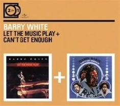 Barry White - 2For1 Let The Music.../Can't Get...