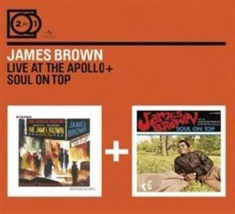 Brown James - 2For1 Live At Apollo/Soul On Top