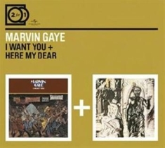 Marvin Gaye - 2For1 I Want You/Here My Dear