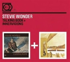 Stevie Wonder - 2For1 Talking Book/Innervisions