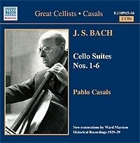 Bach, Johann Sebastian - Cello Suites 1-6