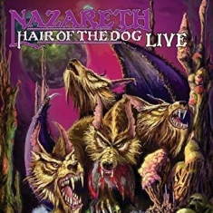 Nazareth - Hair Of The Dog Live Cd+Dvd