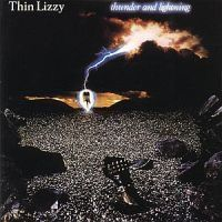Thin Lizzy - Thunder And Lightning i gruppen Minishops / Thin Lizzy hos Bengans Skivbutik AB (609675)