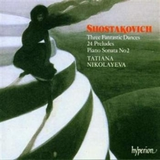 Shostakovich, Dmitry - Piano Music /Nikolayeva