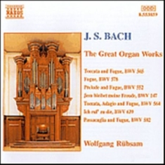 Bach, Johann Sebastian - Great Organ Works
