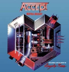 Accept - Metal Heart/Kaizoku-Ban - Live In J
