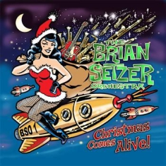 Brian Setzer Orchestra , The - Christmas Comes Alive!