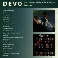 Devo - Q:Are We Not/Live i gruppen CD / CD Punk hos Bengans Skivbutik AB (630013)