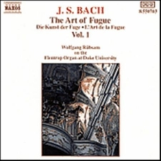 Bach Johann Sebastian - The Art Of Fugue Vol 1