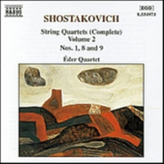 Shostakovich, Dmitry - String Quartets 1, 8 & 9