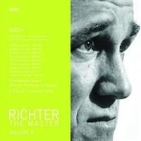 Richter Sviatoslav, Piano - Plays Bach - The Master Vol 8