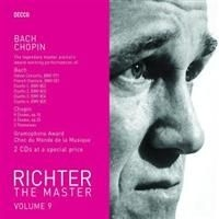 Richter Sviatoslav, Piano - Plays Bach/Chopin - Master Vol 9