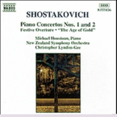 Shostakovich, Dmitry - Piano Concertos 1 & 2