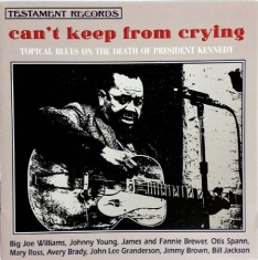 BLUES SAMLING - Can't Keep From Cryin'