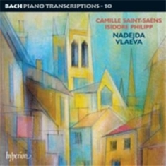 Bach - Piano Transcriptions Vol 10