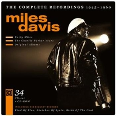 DAVIS MILES - The Complete Recordings 1945 - 1960