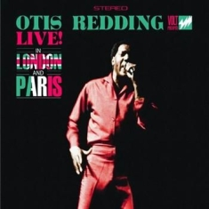 Redding Otis - Live In London & Paris