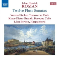 Roman - 12 Sonatas For Flute, Cello And Har