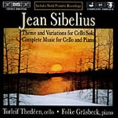 Sibelius, Jean - Complete Cello & Piano Music