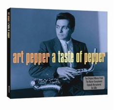 Art Pepper - A Taste Of Pepper
