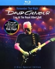 David Gilmour - Remember That Night i gruppen MUSIK / Musik Blu-Ray / Rock hos Bengans Skivbutik AB (740002)